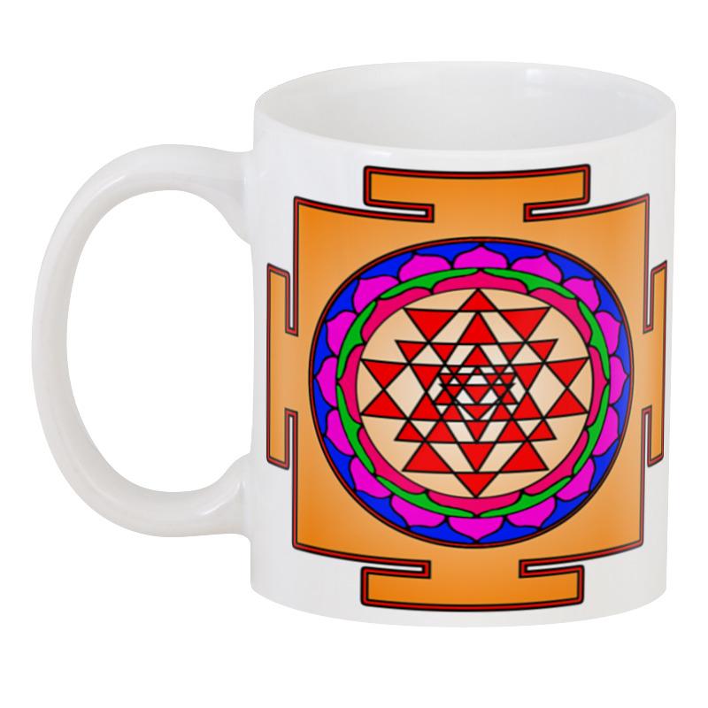 Printio 3D кружка Шри янтра (шри чакра)