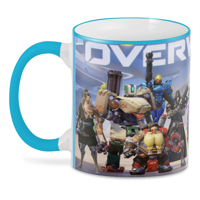 Printio 3D кружка Overwatch