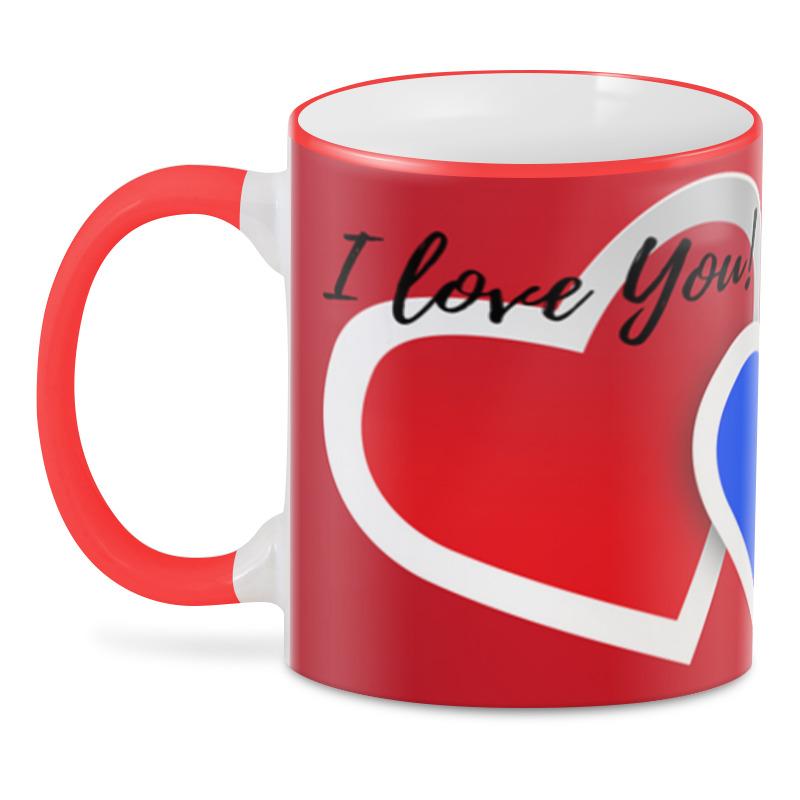 Printio 3D кружка Любовь прикол