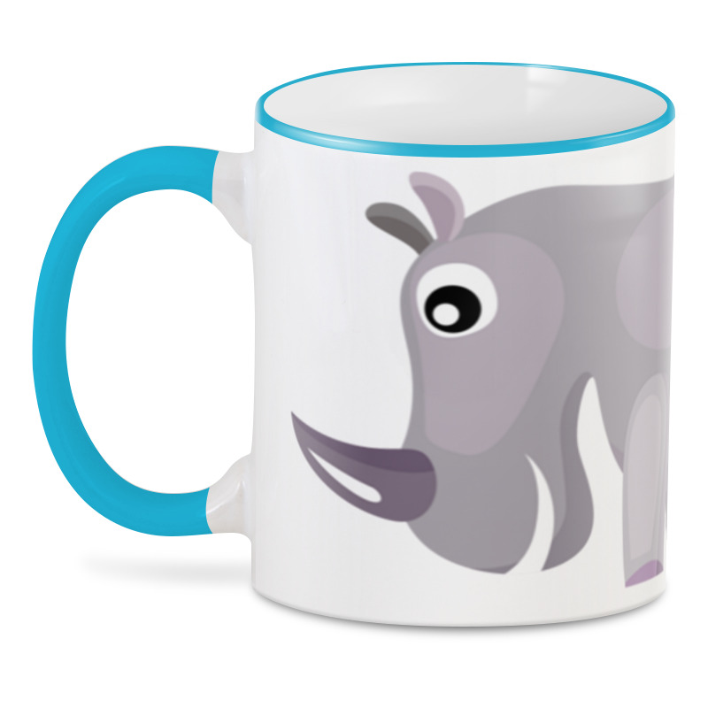 Printio 3D кружка Носорог