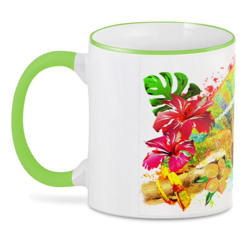 Фото - Printio 3D кружка Хамелеон с цветами в пятнах краски. printio 3d кружка хамелеон