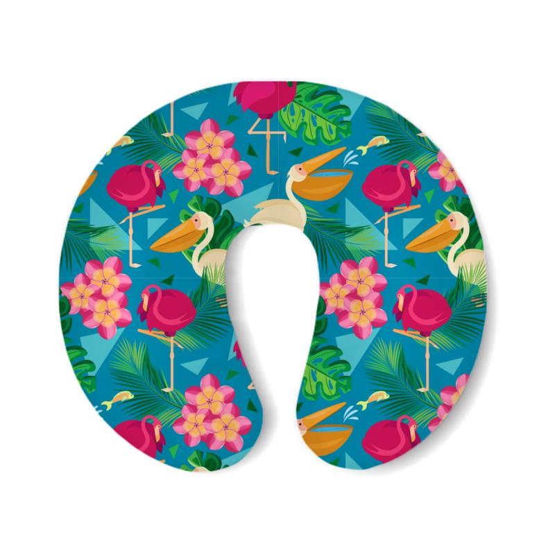 Фото - Printio Подушка для шеи Геометрические тропики printio подушка для шеи полосатые тропики