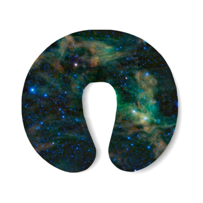 Фото - Printio Подушка для шеи Космос printio подушка для шеи полосатые тропики