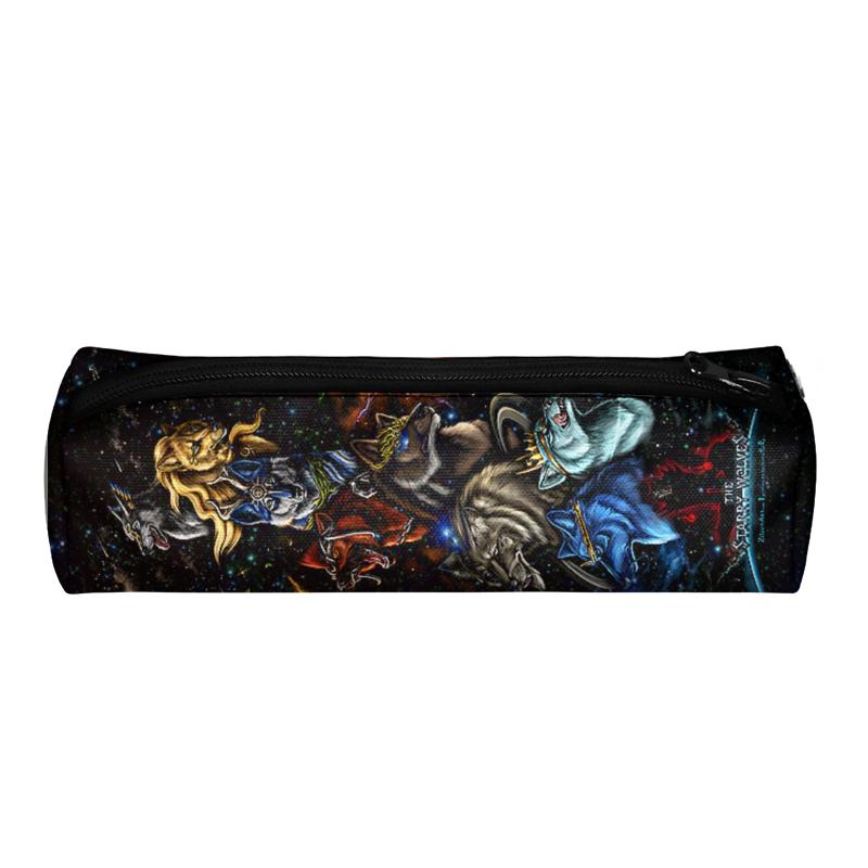 Printio Пенал 3D Волки фэнтези printio рюкзак 3d волки фэнтези седой волк