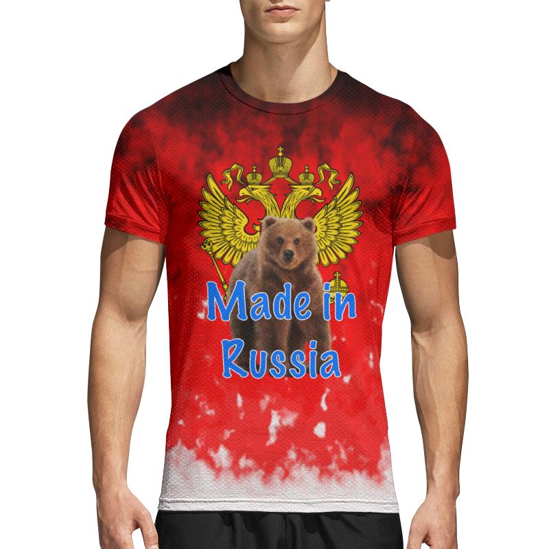 Printio Спортивная футболка 3D Russia
