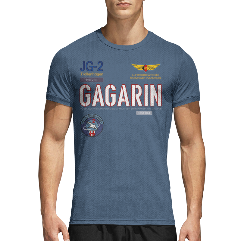 Printio Спортивная футболка 3D Эскадрилья