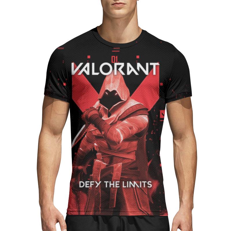 Printio Спортивная футболка 3D Valorant omen