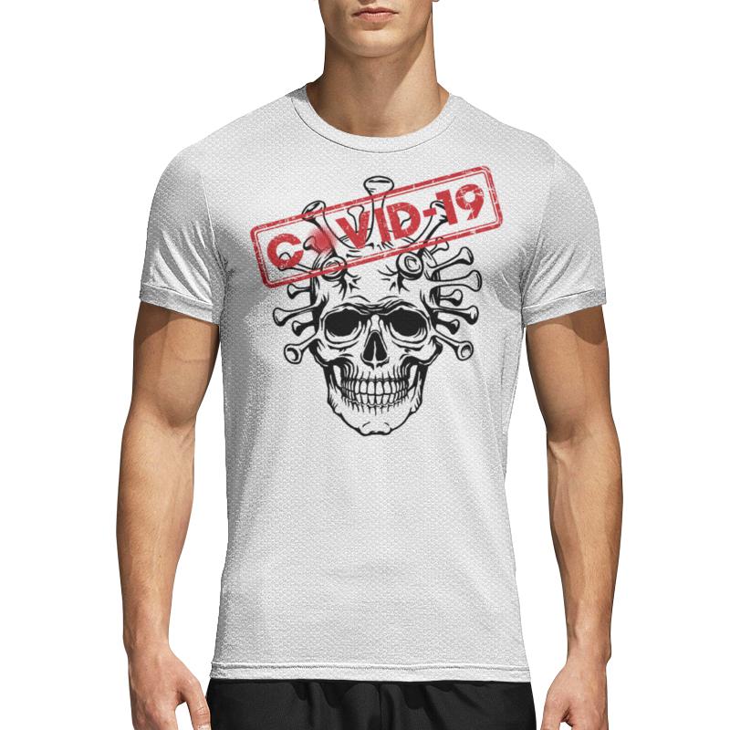 Printio Спортивная футболка 3D Коронавирус
