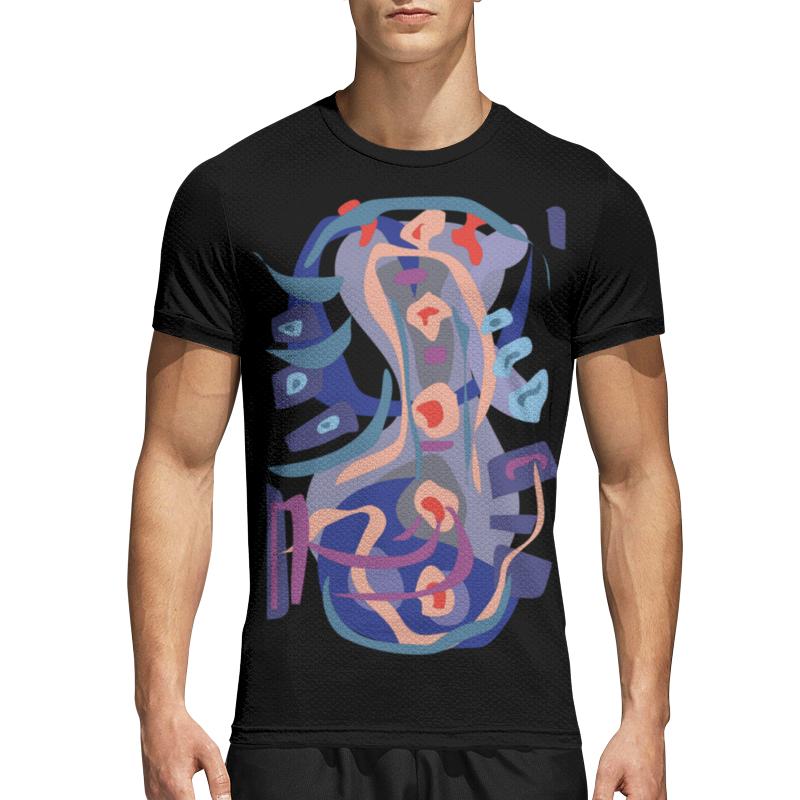 Printio Спортивная футболка 3D С абстрактным рисунком printio сумка с абстрактным рисунком