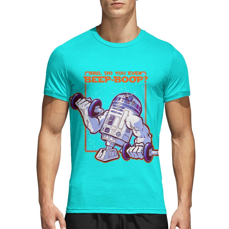 usb карта sw r2 d2 8 gb Printio Спортивная футболка 3D R2 - d2