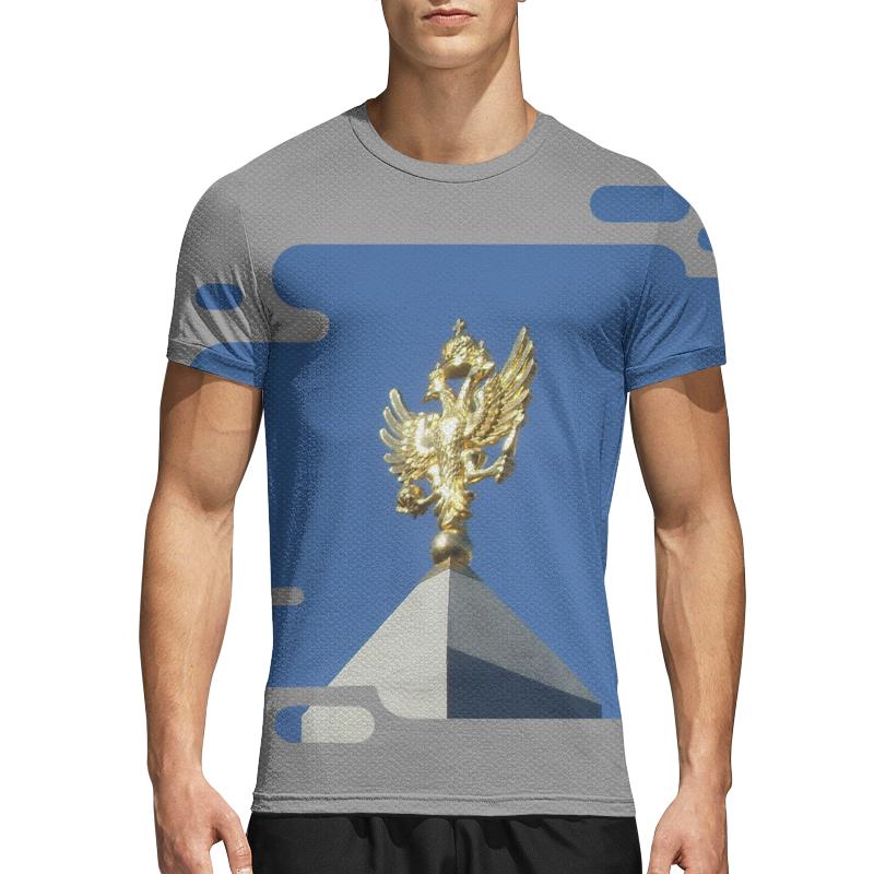 Printio Спортивная футболка 3D Двуглавый орел.