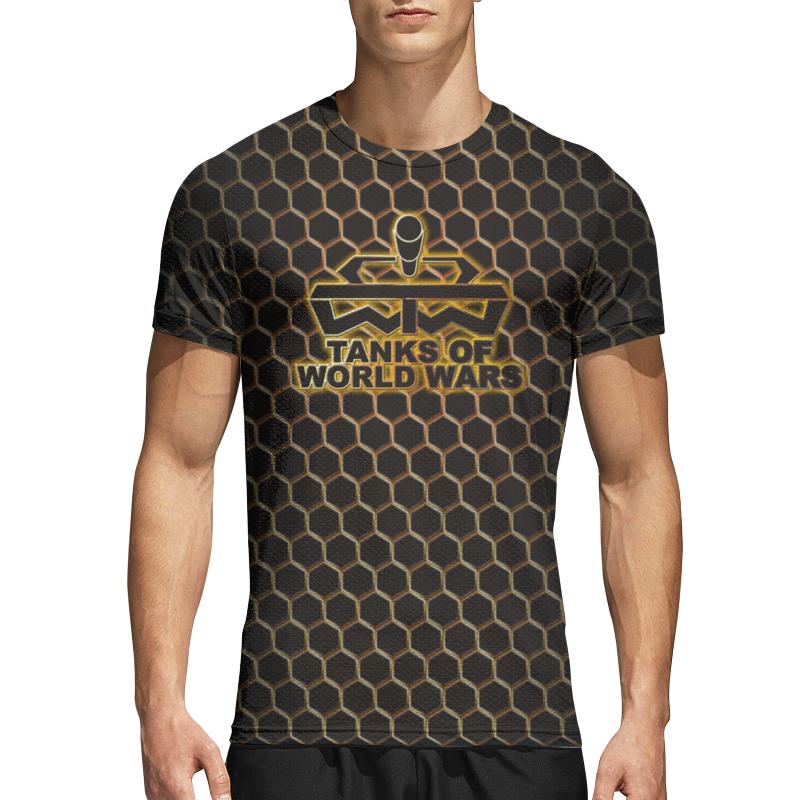Printio Спортивная футболка 3D Tanks of world wars.