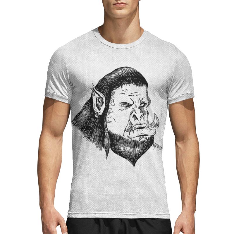 Printio Спортивная футболка 3D Грозный орк