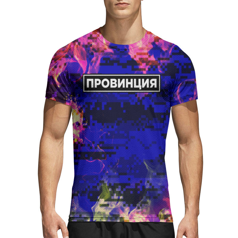 Printio Спортивная футболка 3D Провинция
