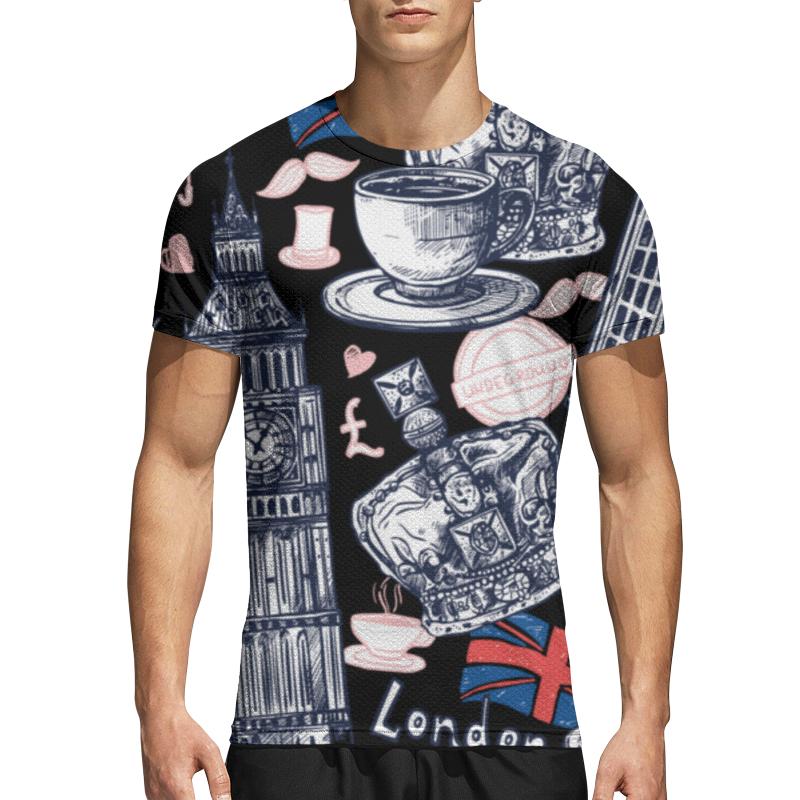Printio Спортивная футболка 3D Лондон