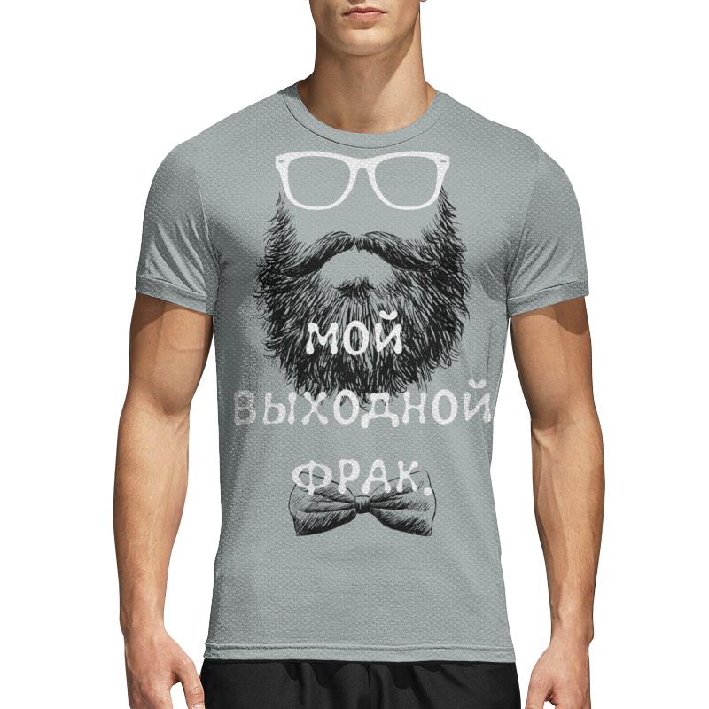 Printio Спортивная футболка 3D Фрак.