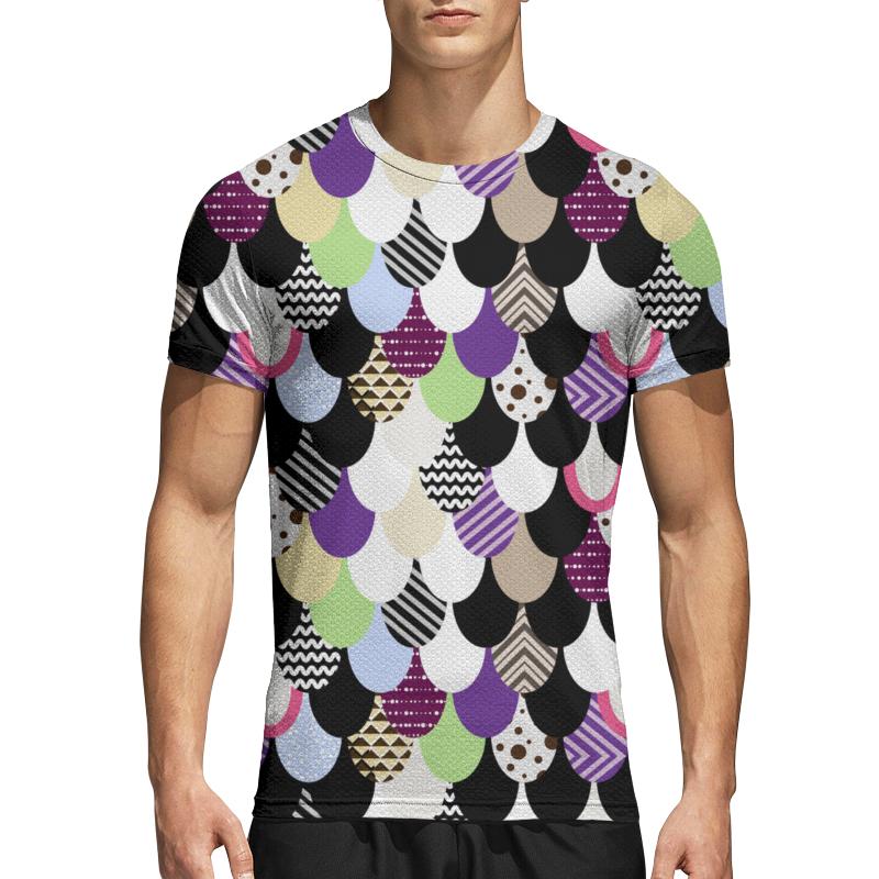 Printio Спортивная футболка 3D Абстрактная драконья чешуя printio сумка с абстрактным рисунком