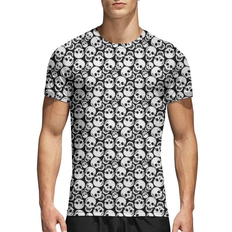 Printio Спортивная футболка 3D Черепа