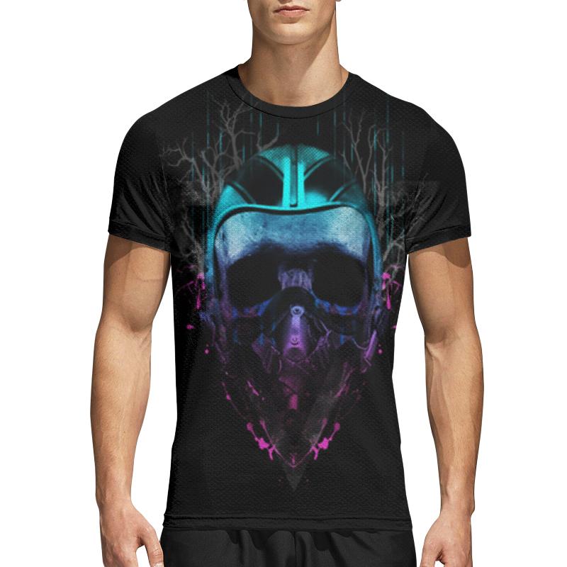 Printio Спортивная футболка 3D Череп