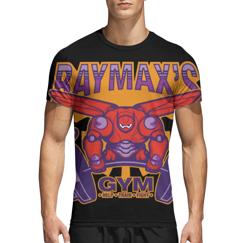 printio totoro x baymax Printio Спортивная футболка 3D Baymax (баймакс)