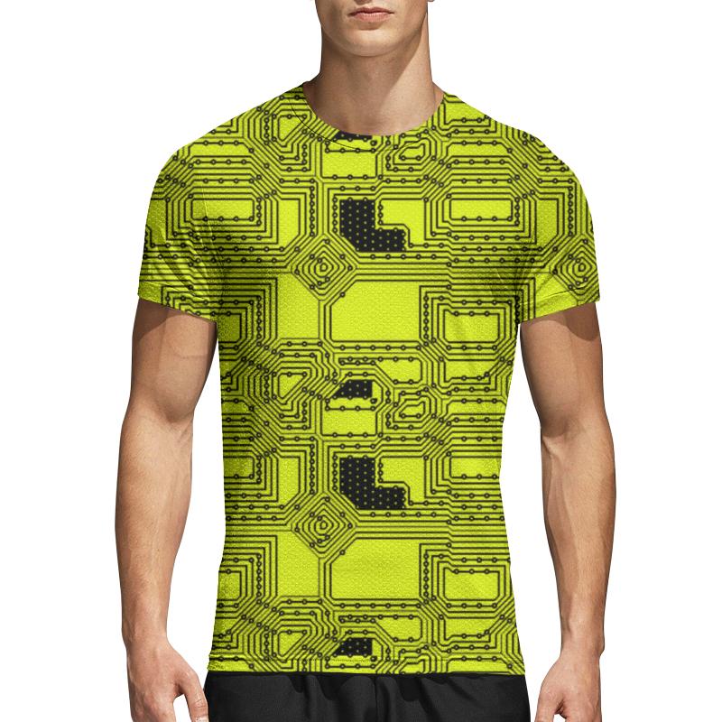 Printio Спортивная футболка 3D Схема
