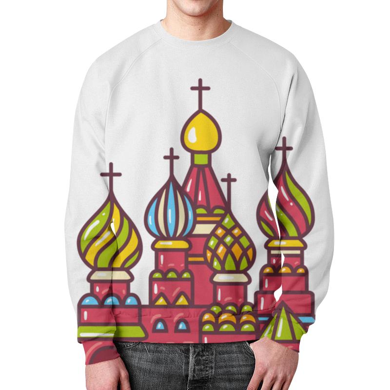 Printio Свитшот мужской с полной запечаткой Москва