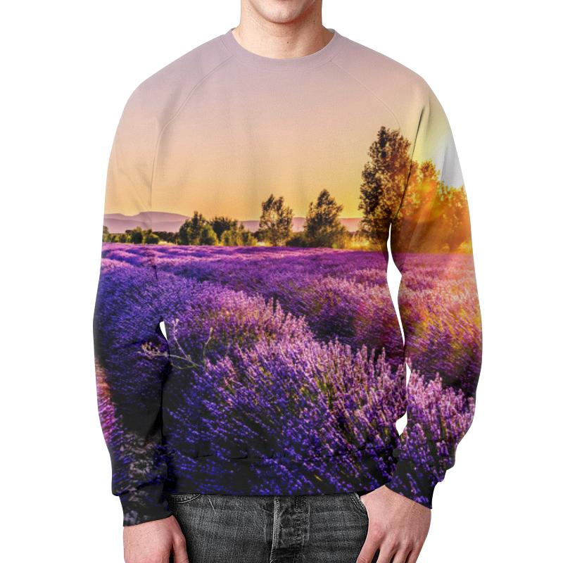 Фото - Printio Свитшот мужской с полной запечаткой Поле цветов толстовка с полной запечаткой printio поле цветов