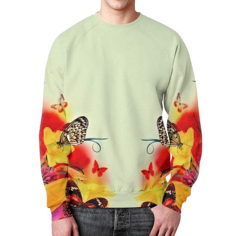 Printio Свитшот мужской с полной запечаткой Краски весны