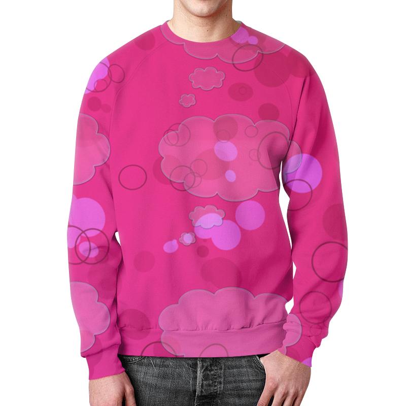 Printio Свитшот мужской с полной запечаткой Pink pink