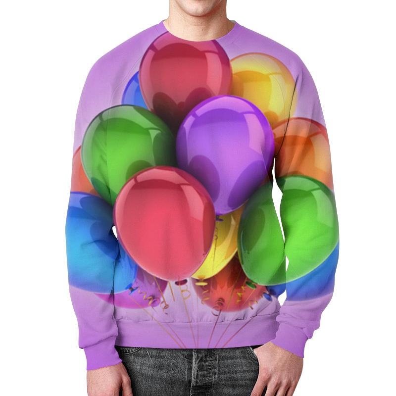 Printio Свитшот мужской с полной запечаткой Воздушные шары