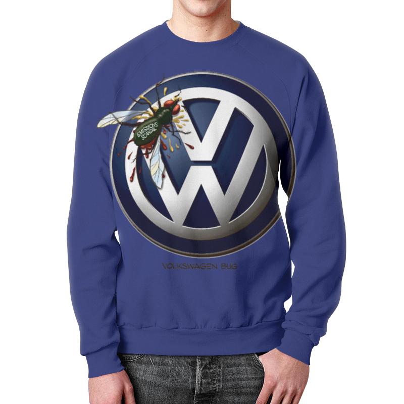 Printio Свитшот мужской с полной запечаткой Volkswagen-логотип автомобиля.знак. printio volkswagen