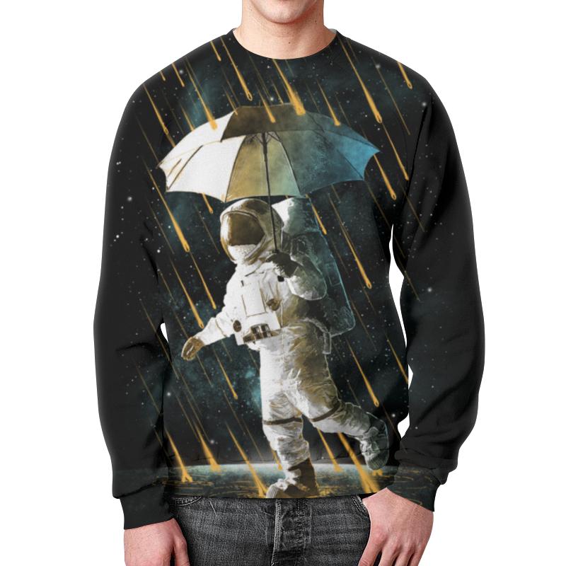 Printio Свитшот мужской с полной запечаткой Метеоритный дождь