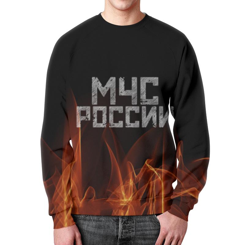 Printio Свитшот мужской с полной запечаткой Мчс россии