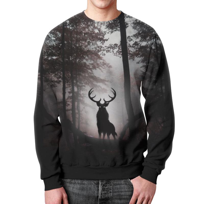 Printio Свитшот мужской с полной запечаткой Лесной зверь printio свитшот мужской с полной запечаткой зверь