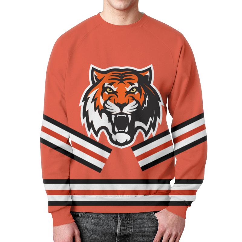Printio Свитшот мужской с полной запечаткой Хоккейная форма бузовой (красная)