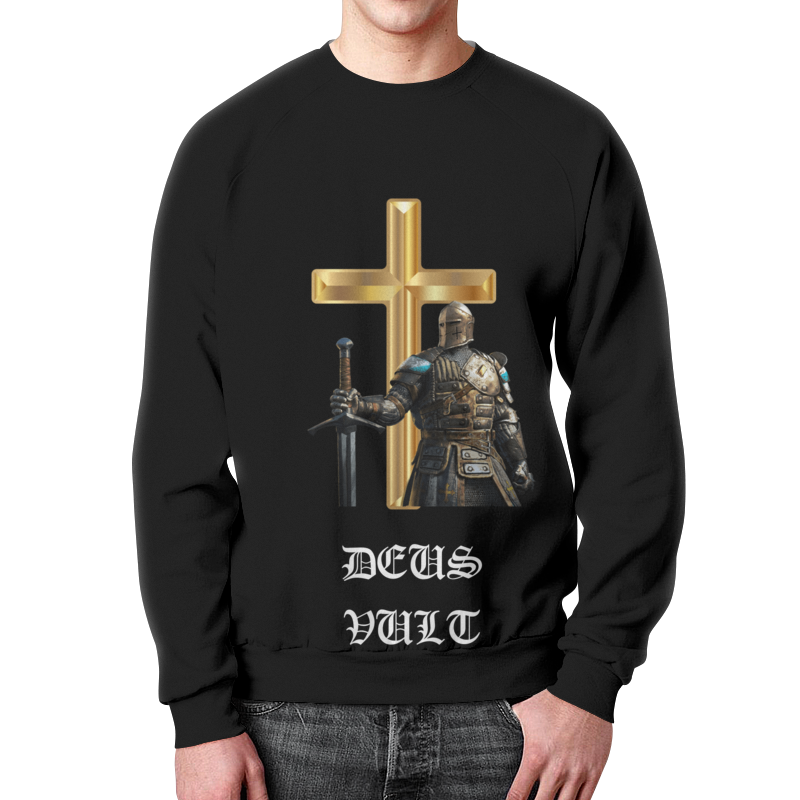Printio Свитшот мужской с полной запечаткой Deus vult. крестоносцы printio свитшот мужской с полной запечаткой deus vult крестоносцы