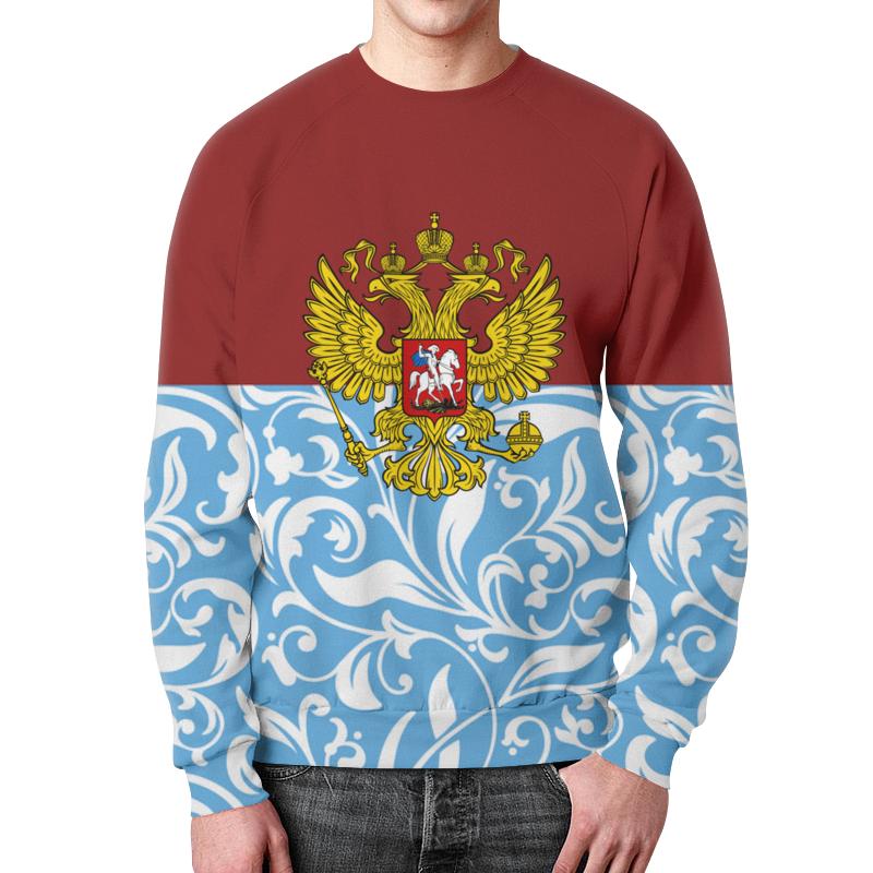 Фото - Printio Свитшот мужской с полной запечаткой Цветы и герб printio свитшот женский с полной запечаткой цветы и герб
