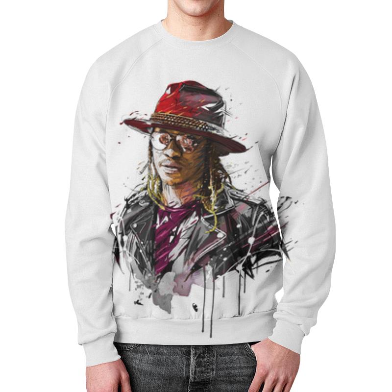 Printio Свитшот мужской с полной запечаткой Человек в шляпе printio толстовка с полной запечаткой человек в шляпе