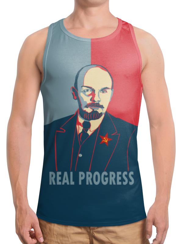Printio Борцовка с полной запечаткой Ленин