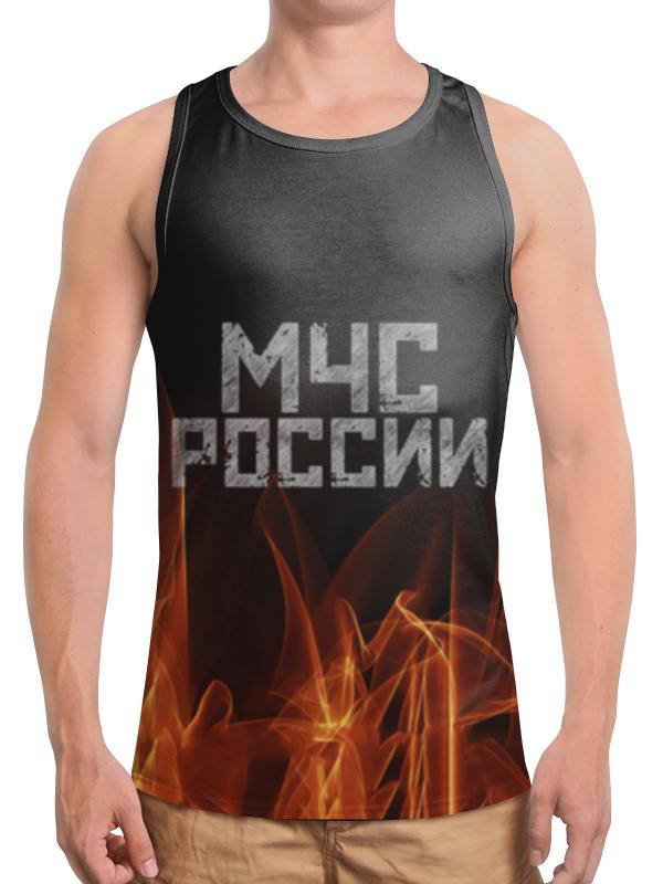 Printio Борцовка с полной запечаткой Мчс россии