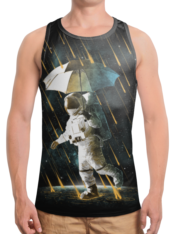 Printio Борцовка с полной запечаткой Метеоритный дождь