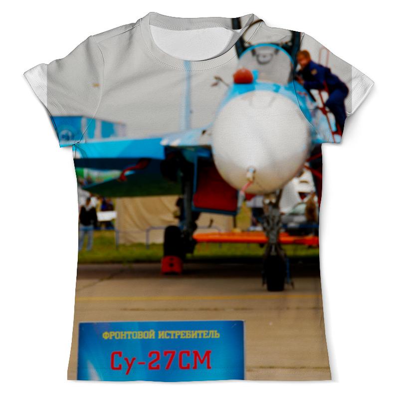 Printio Футболка с полной запечаткой (мужская) Истребитель су-27см printio футболка с полной запечаткой мужская макс max