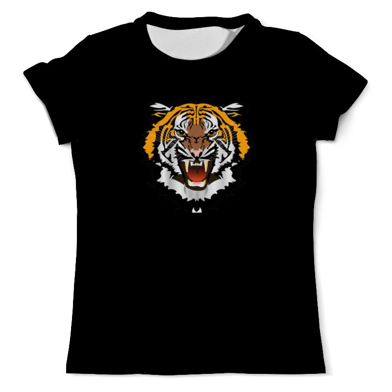 Printio Футболка с полной запечаткой (мужская) Охрана-тигр