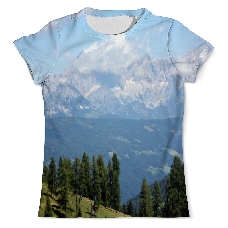 Фото - Printio Футболка с полной запечаткой (мужская) Горный пейзаж printio футболка с полной запечаткой мужская живописный пейзаж