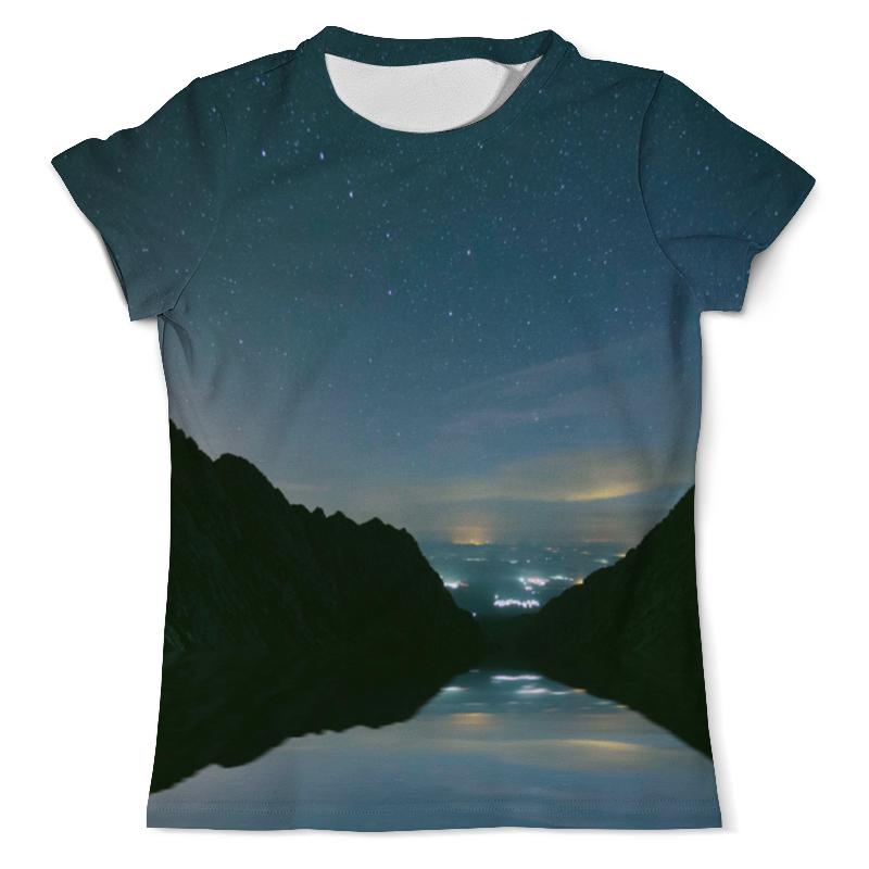 Фото - Printio Футболка с полной запечаткой (мужская) Вечерний пейзаж printio футболка с полной запечаткой мужская живописный пейзаж