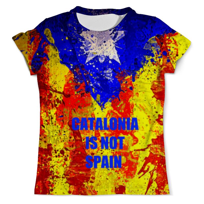 Printio Футболка с полной запечаткой (мужская) Свободная каталония