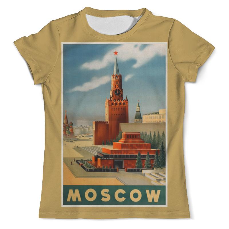 Printio Футболка с полной запечаткой (мужская) Москва