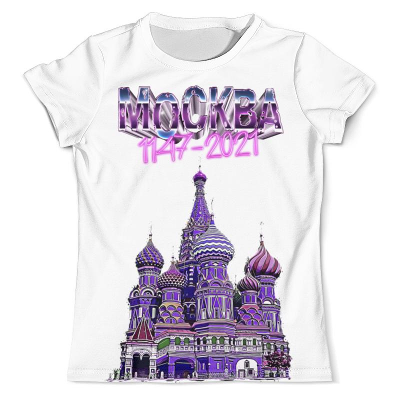 Printio Футболка с полной запечаткой (мужская) Москва 1147-2021