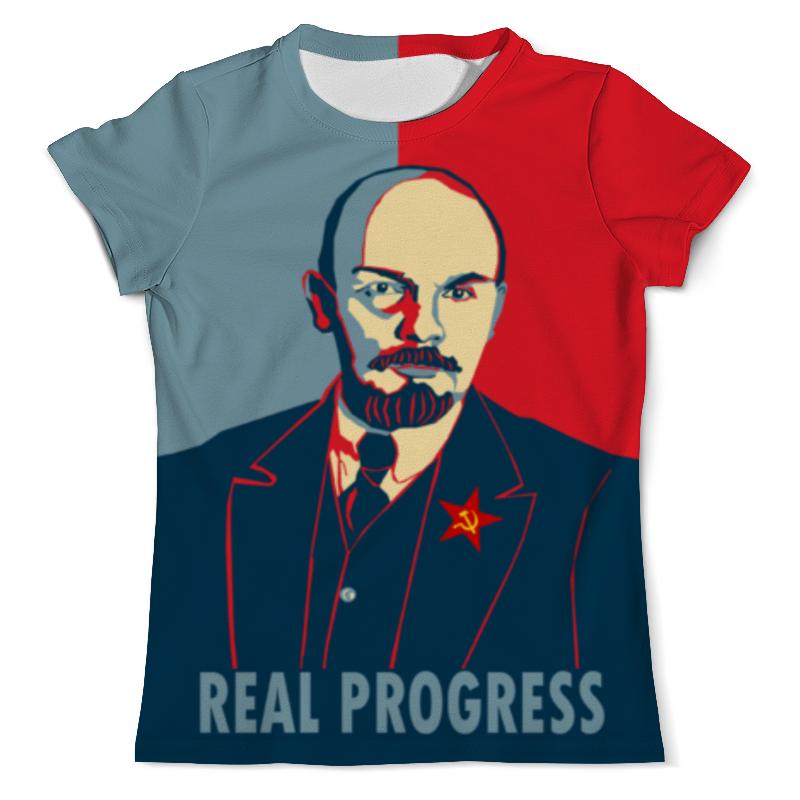 Printio Футболка с полной запечаткой (мужская) Ленин