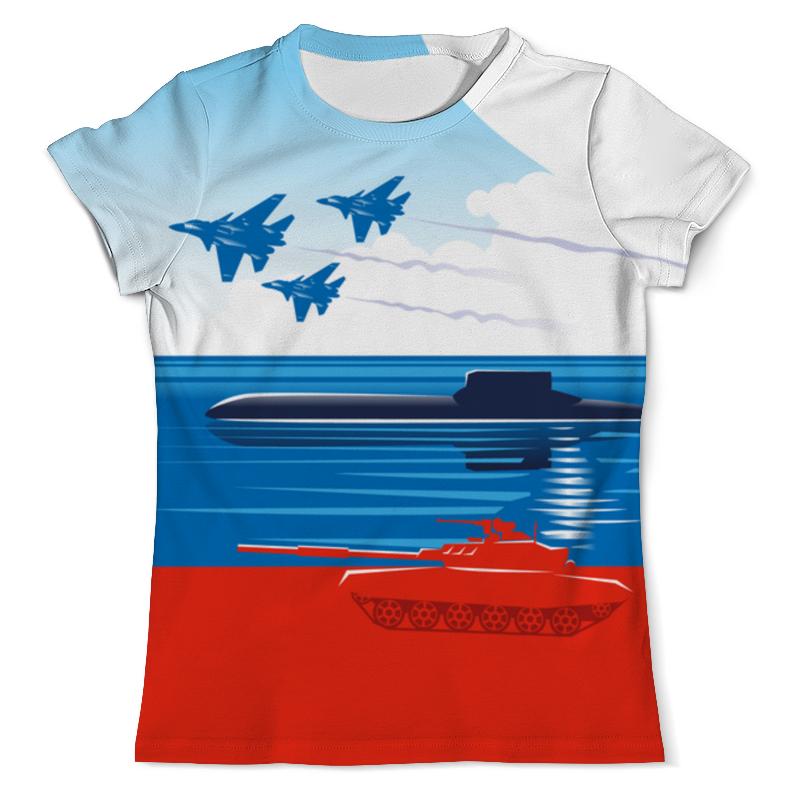 Фото - Printio Футболка с полной запечаткой (мужская) Вооружённые силы российской федерации printio футболка с полной запечаткой мужская футболка надводные силы